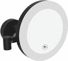 Miroir de douche avec éclairage LED et capteur