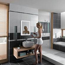 ® Miroir de salle de bain avec éclairage LED 9W
