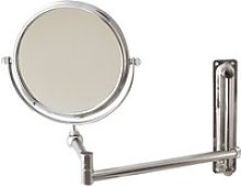 Miroir de salle de bain grossissant extensible