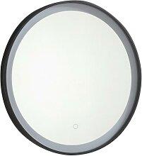 Miroir de salle de bain lumineux rond à Leds