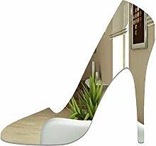 Miroir décoratif à Talon Haut - Design Moderne -