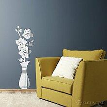 Miroir décoratif Bouquet of Orchids 75 cm,