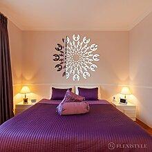 Miroir décoratif Dahlia - Design Moderne - 3 mm -