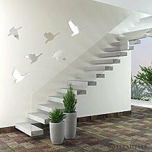 Miroir décoratif Flex Swans - Design Moderne - 3