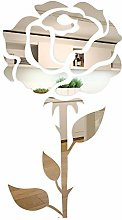 Miroir décoratif FLEXISTYLE Rose 1, décoration
