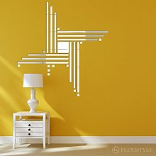 Miroir décoratif Points 100 cm, décoration