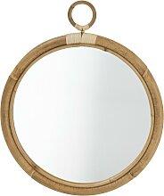 Miroir en rotin ELLA de Sika Design, D. 45