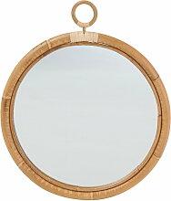 Miroir en rotin ELLA de Sika Design, D. 50