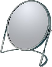 Miroir grossissant sur pied Acier AKIRA Gris Mat -