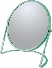 Miroir grossissant sur pied Acier AKIRA Vert Mat -