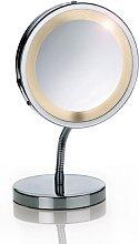 Miroir grossissant (x3) lumineux sur pied D15