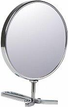 Miroir Grossissant (X5) à Main Chromé - Chrome