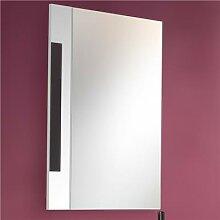 Miroir mural blanc et gris design ARMANA