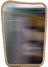 Miroir mural Organique Medium / 64 x 90 cm - Rotin