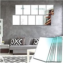 Miroir Mural Verriere Adhesif Rectangulaire