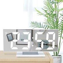 Miroir numérique, horloge électronique, grand