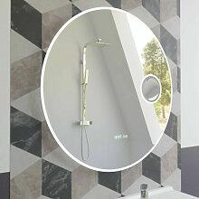 Miroir RONDINARA Ø 60cm - éclairage LED,