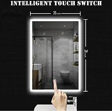 Miroir salle de bain LED 50x70cm Miroir salle de