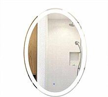 Miroirs de salle de bain Ovale Miroir Lumineux