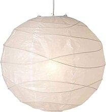 MISINIO Lanterne en Papier Blanc crème Croix