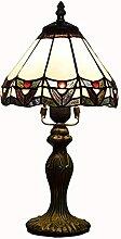 MISLD Lampe De Table Créative 8 Pouces Tiffany