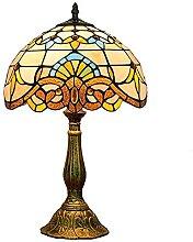 MISLD Lampe De Table De Luxe Baroque De 12 Pouces