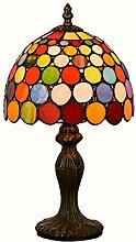 MISLD Lampe De Table De Style Tiffany 8 Pouces