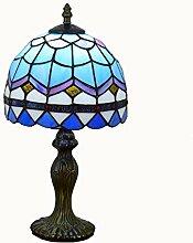 MISLD Lampe De Table De Style Tiffany 8 Pouces,