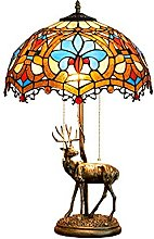 MISLD Lampe De Table De Table Créative Tiffany