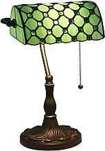 MISLD Lampe De Table Rétro Lampe De Table Tiffany