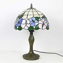 MISLD Lampe De Table Rétro Tiffany Lampes De