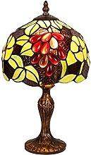 MISLD Lampe De Table Tiffany Table Lampe De Table,