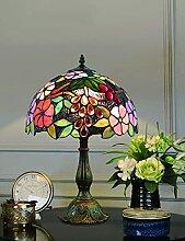 MISLD Lampe De Table Tiffany, Vintage Vintage
