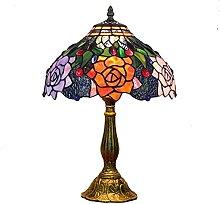 MISLD Lampes De Table Tiffany, 12 Pouces Vintage