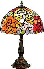 MISLD Style De Lampe De Table Tiffany, Abat-Jour