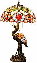 MISLD Tiffany Lampe De Table 20 Pouces Tiffany Art