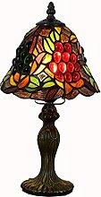 MISLD Tiffany Table Lampadaire Lampes De Bureau