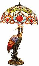 MISLD Tiffany Table Lampe 20 Pouces Tiffany Art