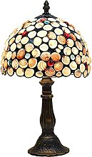 MISLD Tiffany Table Lampe Antique Handmade Shell