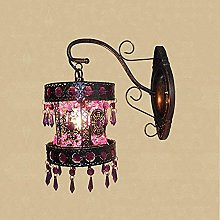 MISS KANG Lampe Murale Style Antique cuivre Non