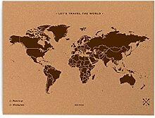 Miss Wood 8436563400025 Map L-Carte du Monde en