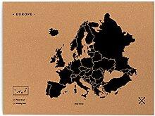 Miss Wood Woody Map XL–Carte du Monde en