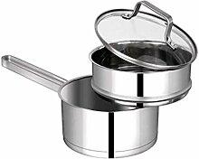MISS Z 304 en acier inoxydable Lait Pot ménages