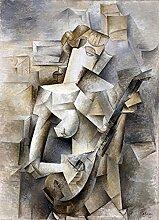 misspfeas Pablo Picasso Fille avec Une Mandoline
