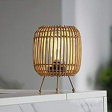 MJ PREMIER Lampe de table à piles avec minuteur,