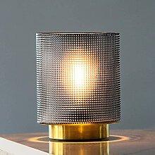 MJ PREMIER Lampe de table à piles en verre -