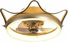 MJJLT Ventilateur De Plafond Ventilateur LED