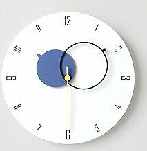 MJK Horloge Murale de Fantaisie, 12 'Horloge