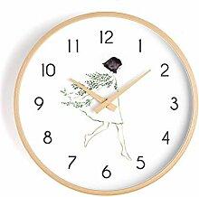 MJK Horloge Murale de Nouveauté, Serrure Murale