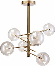 MJK Sputnik Lustre Plafonnier encastré en métal